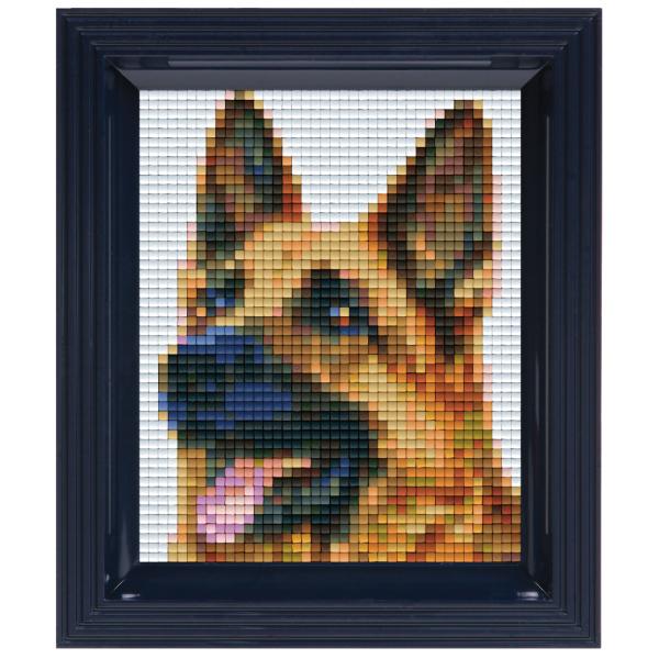 Kit Pixel Cadeau Berger Allemand Kit Plaque Pixelhobby